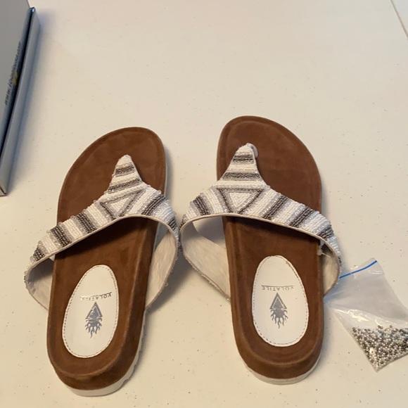 Brand new in box Volatile sandals
